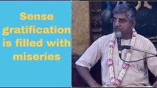 Srimad Bhagavatam Class by Srivas Thakur Prabhu at ISKCON Chowpatty on 20th Apr 2019