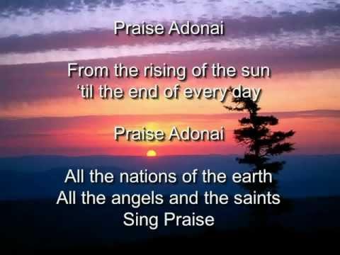 Praise Adonai - Paul Baloche (with Lyrics)