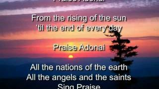 Praise Adonai - Paul Baloche (with Lyrics)