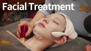[스파 체험 ASMR] 피부 관리 & 림프 마사…