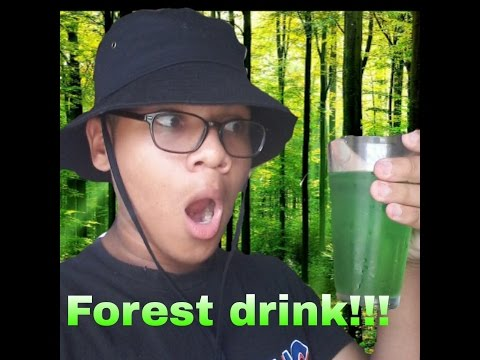 How to make a forest drink!!!