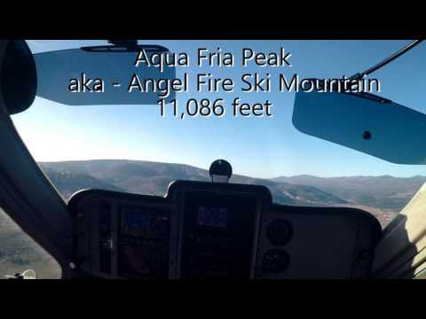 LSA flight to Angel Fire, NM - KAXX