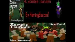 [ROBLOX] Top 10 Zombie / infection Games!