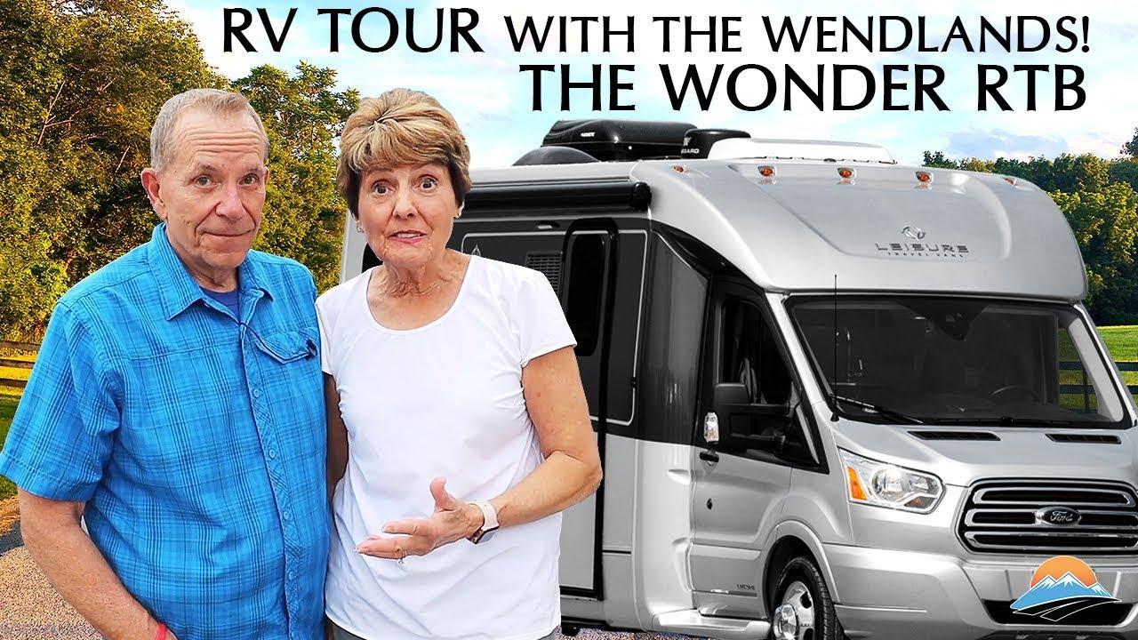 Full Review & Tour of Leisure Travel Vans Wonder RTB - YouTube