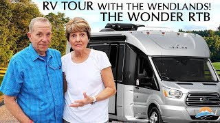 Full Review & Tour of Leisure Travel Vans Wonder RTB