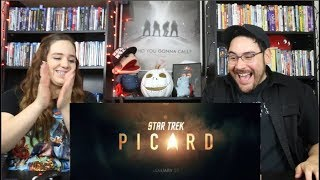 Star Trek PICARD - NYCC Trailer Reaction / Review