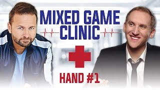 Mixed Game Clinic Stud Hand #1