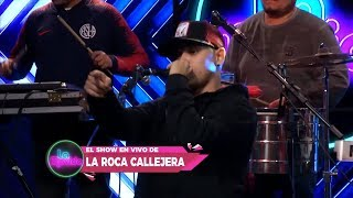La Roca Callejera: ¡Increíble show en vivo! - La Movida 2019