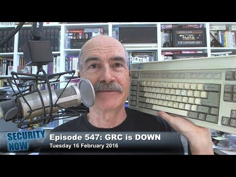 Security Now 547: GRC is DOWN