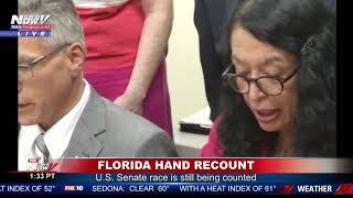 WATCH: Florida Hand Recount In Broward County