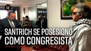 Jesús Santrich toma posesión en la Cámara de Representantes | El Espectador