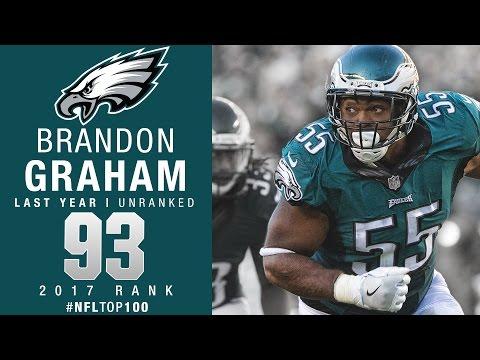 #93: Brandon Graham (DE, Eagles) | Top 100 Players of 2017 | NFL