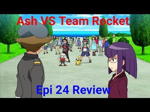 Ash VS Team Rocket Pokemon sword and shield episode 24 ...