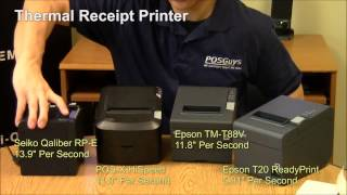Receipt printer information by posguys.com. we do a speed comparison and demonstrate the differences between impact printers ther...