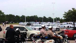 Hattiesburg Police - Funeral for Officer BJ Deen
