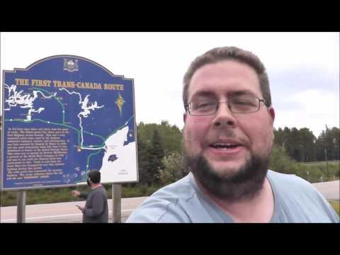 Eastern Standard Time Zone & Manitoba Border!