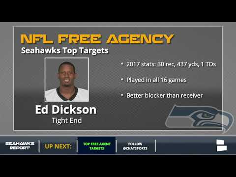 Seattle Seahawks Top NFL Free Agent Targets For 2018 Featuring Ndamukong Suh And Ed Dickson