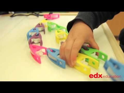 Small Pegs with Laces - Edx Education, Early Years, Fine Motor Skills & Classroom Resources