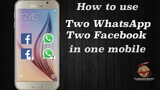 hindi how to use 2 two whatsapp facebook messenger instagram on one android phone without root
