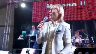 """""""ITALIA in TAVOLA """"  Moreno il Biondo Orchestra Grande EVento (video amatoriale)"""
