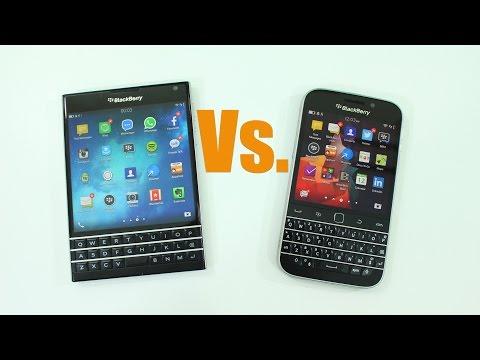BlackBerry Passport vs. BlackBerry Classic - What