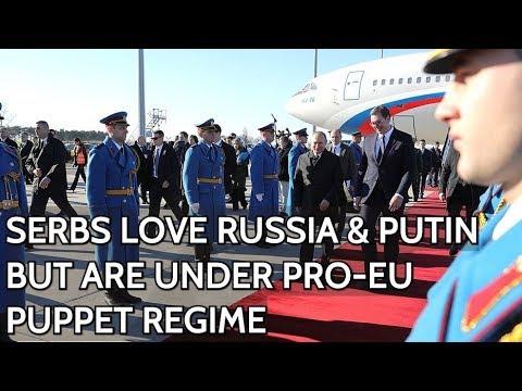 Putin Arrives To Russia-Loving Serbia And Meets EU-Oriented Aleksandar Vucic