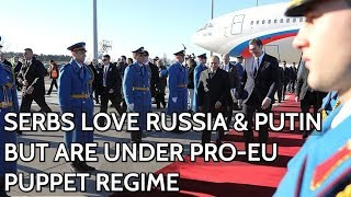 Putin Arrives To Russia-Loving Serbia And Meets EU-Oriented Al…