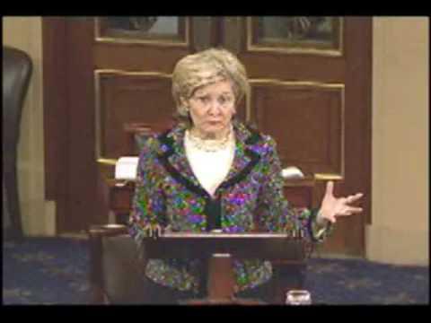 Senators Mike Enzi and Kay Bailey Hutchison Speak Against Wage Discrimination