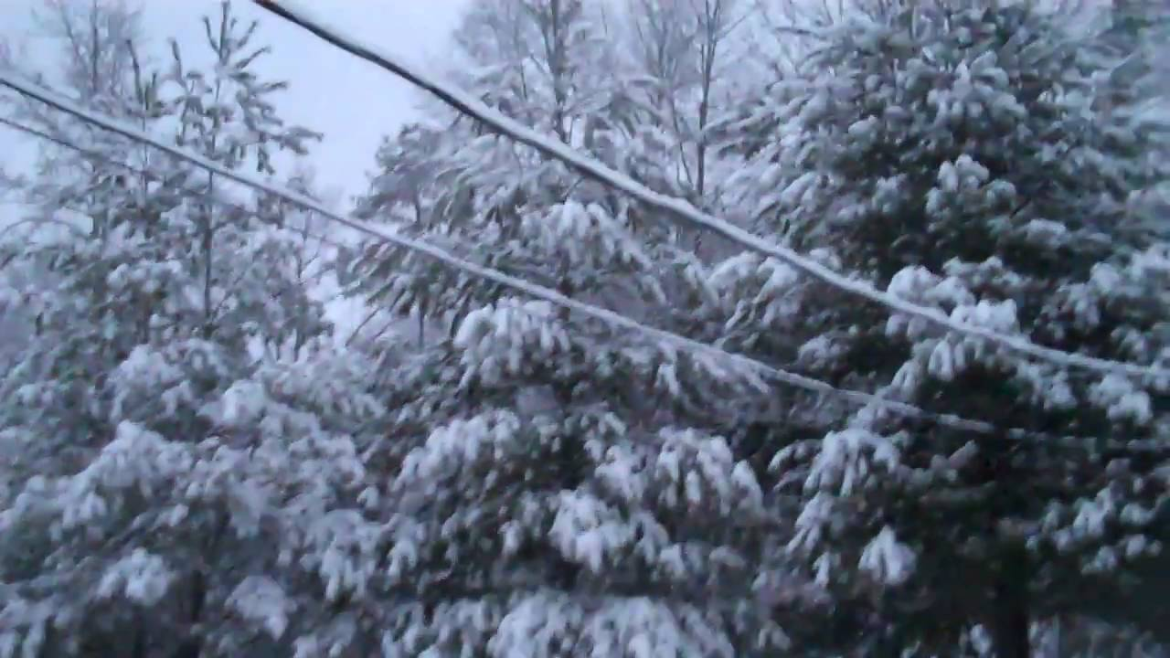 A WHITE Christmas Morning in Kentucky - YouTube