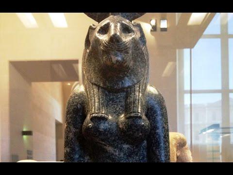 The Louvre Egyptian Exhibit