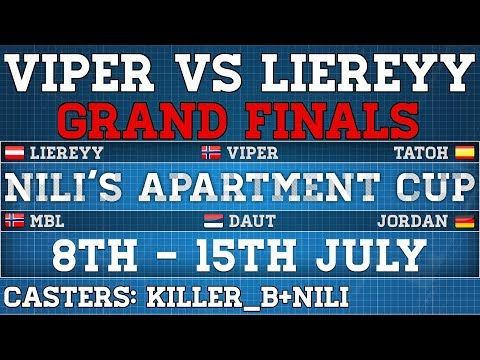 AoE2 | NAC Finals | Viper vs Liereyy | Cast by Nili+Killer_B