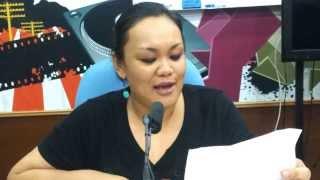 Proton Saga Kelabu (Bahasa Dusun) - Mary TRAXXfm | Jom Jam Akustik | 28 Ogos 2013