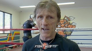 HORN TRAINER GLEN RUSHTON SAYS ONLY CRAWFORD & JEFF HORN GIVE PACQUIAO TROUBLE IN RING