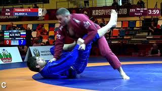 Round 3 Men-Gi - 100 kg: B. TOMASETTI (ITA) v. A. BILAROV (RUS)