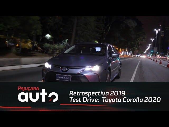 Retrospectiva 2019: Lançamento do Toyota Corolla 2020
