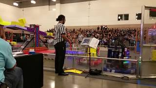 2018 FRC Dallas Regional Finals Match 1 FIRST Robotics POWER UP f1 fm1 #2018txda