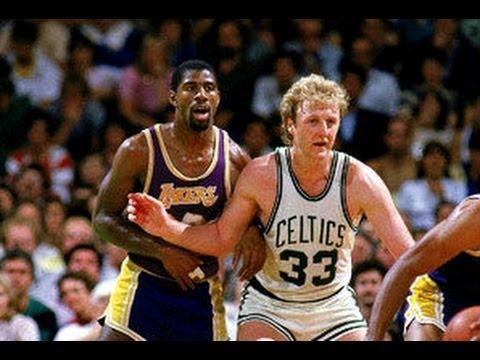 1984 NBA Finals Gm 6 - Larry Bird: 28/8/11 Highlights