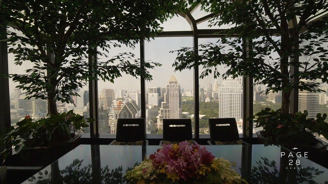 Tour Thailand's Top Luxury Hotel, Banyan Tree Bangkok