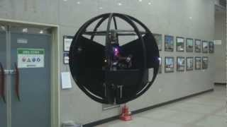 Spherical Flight Vehicle (Flying ball, Sphere drone, Single rotor, VTOL...)