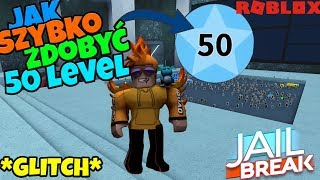 NOWY GLITCH NA LEVEL W JAILBREAK - Roblox PL