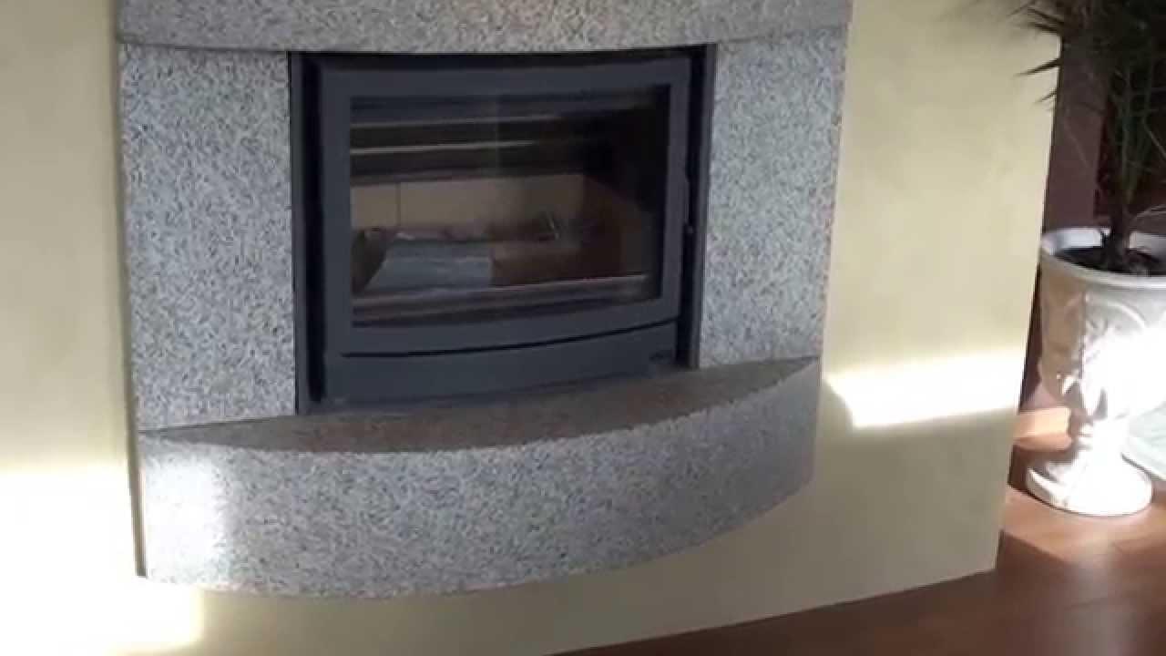Pierre De Parement En Granit habillage en pierre granit cheminée74