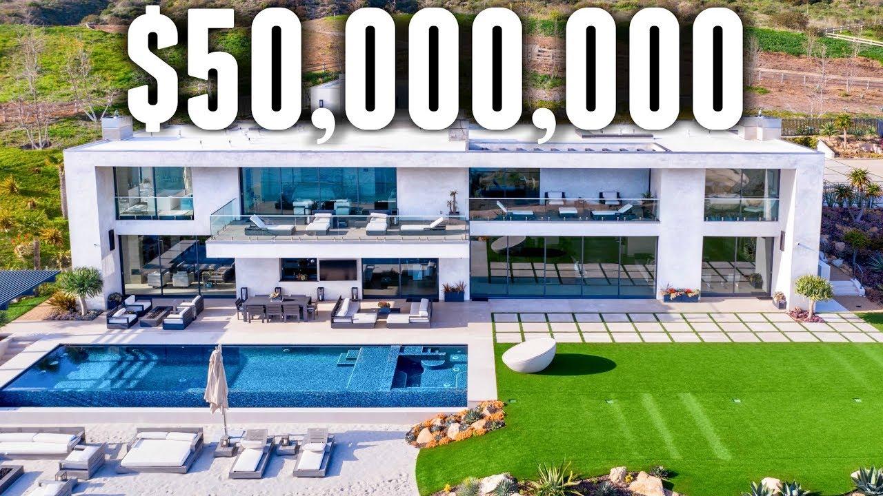 Inside Look: Quarantine inside of THIS $50,000,000 Mega Mansion!