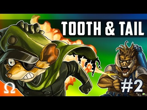 UNCLE BUTTERS JUST WANTS TO PLAY! | Tooth & Tail #2 Gameplay Ft. Sattelizer