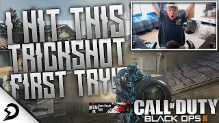 I HIT THAT SHOT FIRST TRY?! - BO2 FFA Trickshotting!