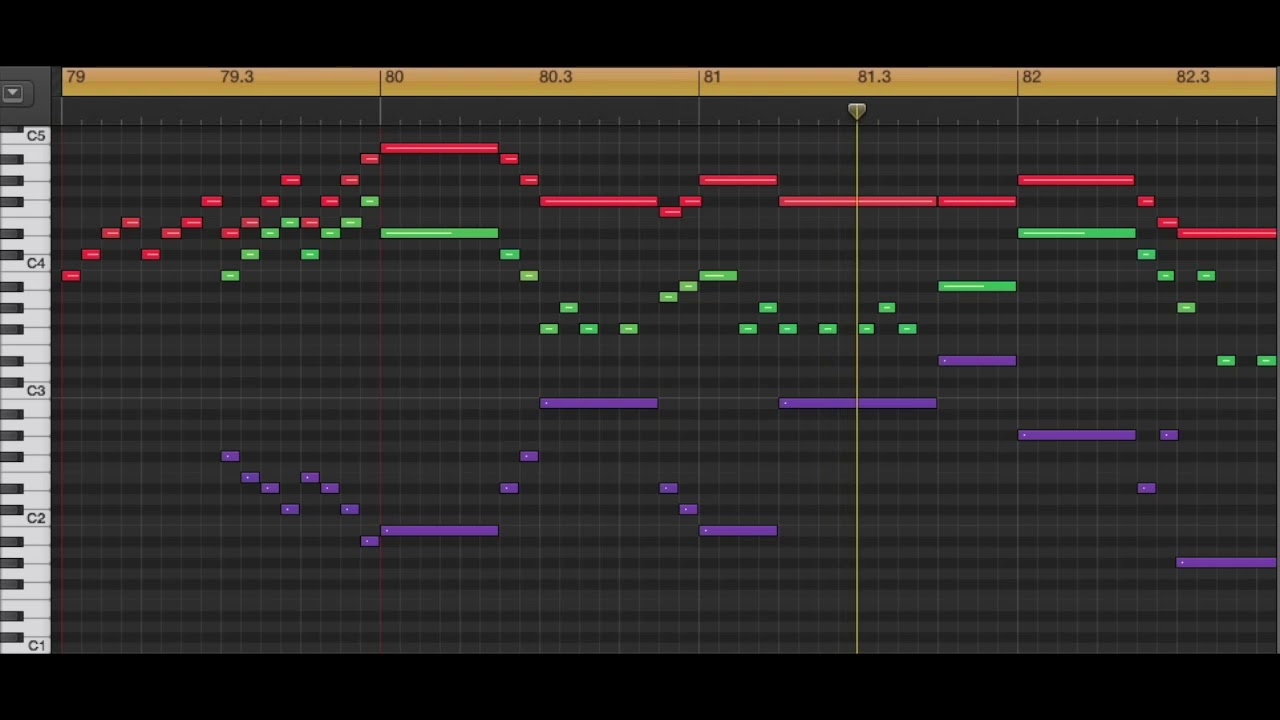 Radio Oak's Pokémon Talk (Music Score/Piano Roll)