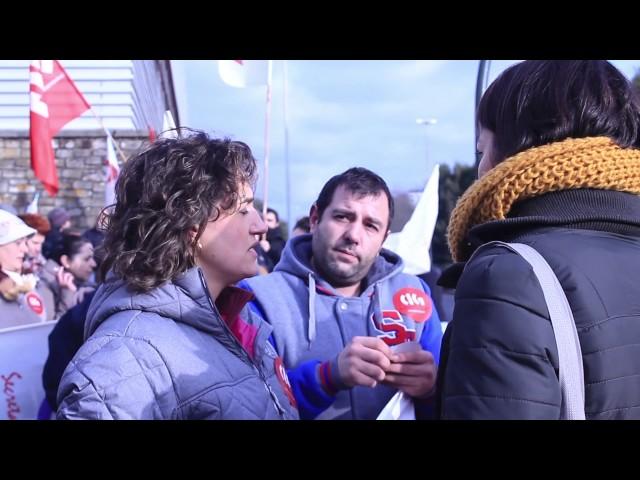 Concentración da CIG en apoio a Nélida Pisco