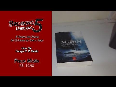 5bb4a0c03 A Guerra dos Tronos Edição Exclusiva 1ª Ed. - As Crônicas de Gelo e Fogo  (Unboxing)