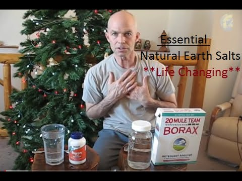 Borax Miracle: Naturally cure...arthritis, heart, remove calcification, fluoride, heavy metals