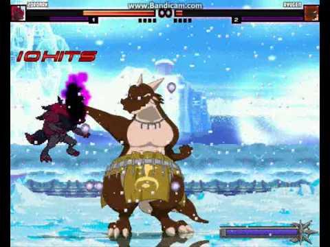 M.U.G.E.N Episode 732 Zoroark (Me) Vs Ryugen