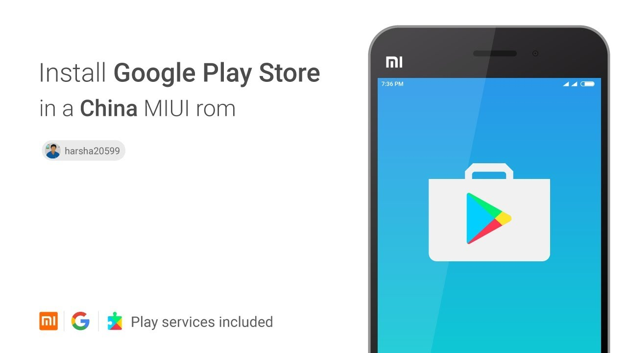 How to install google play store in MIUI china ROM